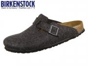 Birkenstock Boston 160373 anthracite Felt