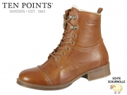 Ten Points Pandora 126002-319 cognac Leather