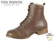 Ten Points Pandora 126002-356 taupe Leather