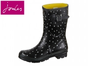 Tom Joule Molly Welly Molly Welly black raindrops Gummi-Kautschuk