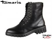 Tamaris 1-25232-21-001 black Materialmix aus Leder und Synthetik