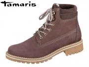 Tamaris 1-25242-21-566 plum Leder