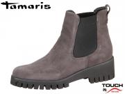 Tamaris 1-25461-21-214 anthracite Leder