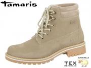 Tamaris 1-26244-21-341 taupe Materialmix aus Leder und Synthetik Tex