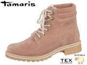 Tamaris 1-26244-21-517 oldrose Materialmix aus Leder und Synthetik Tex