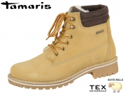 Tamaris 1-26244-21-610 corn Leder Tex Wolle