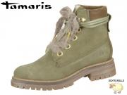 Tamaris 1-26257-21-722 olive Leder