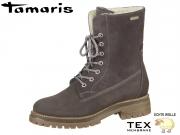 Tamaris 1-26262-21-234 anthracite combi Leder Sympathex