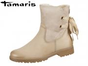 Tamaris 1-26445-21-375 antelope Materialmix aus Leder und Textil