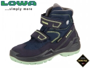 Lowa Milo GTX mid 640542 6908 navy mint Leder-GTX
