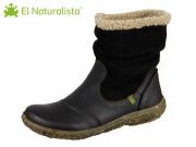 El Naturalista Nido N758 bl black Soft Grain Lux Suede