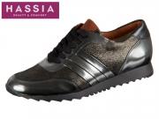 Hassia Barcelona 6-301983-6201 antrazit schwarz Luxcalf Canvas Softlamm