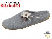 Living Kitzbühel 2664-610 grau Wolle
