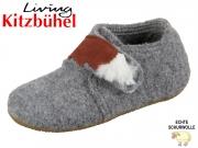 Living Kitzbühel 3032-610 grau Wolle