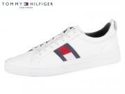 Tommy Hilfiger Leather Sneaker FM0FM01712-100 white Leather