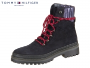 Tommy Hilfiger Hiking Boot Suede FW0FW03048-403 midnight Suede