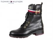 Tommy Hilfiger Belt Biker Boot FW0FW03064-990 black