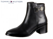 Tommy Hilfiger The Buckle Mid Heel Boot FW0FW03630-990 black Leather