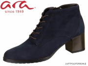 ARA Florenz 12-16942-78 blau Samtchevreaux