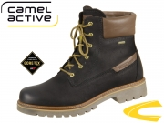camel active Canberra 874.70-15 black Nubuk Oil Cow GTX