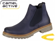 camel active Canberra 873.72-03 denim Soft Cracy Horse