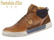 Pantofola d Oro Frederico Uomo Mid 10183023.JCU tortoise shell