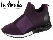 la strada 1800781-4036 Purple Lycra Satin