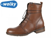 Wolky Murray 0443220430 cognac Velvet Leather
