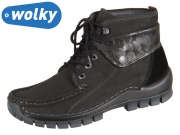 Wolky Jump Winter 0472559000 black Nepal Oiled Circles