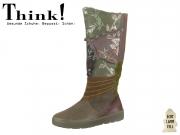 Think! 83097-63 oliv kombi Material Mix