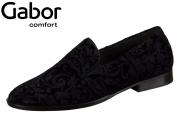 Gabor Rhodos 92.442-16 schwarz ocean Flock Ornament