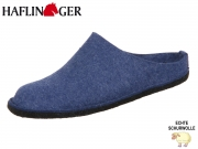 Haflinger Flair soft 311010-72 jeans Wolle