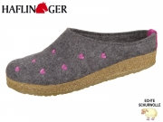 Haflinger Grizzly Cuoricino 741031-4 anthrazit Wolle