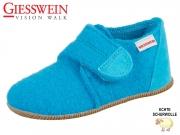 Giesswein Oberstaufen 45200-572 cyanblau Schurwolle