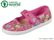 natural world W56023-42 rosa esp organic cotton