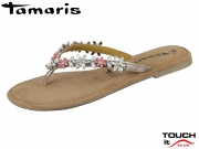 Tamaris 1-27125-20-532 rose metallic Leder