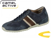 camel active Space 137.27.01 navy jeans Vintage PU Suede