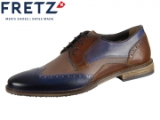 Fretz Men Grenoble 7445.7232-42 navy blue mokka