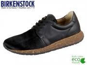 Birkenstock Wrigley 1012107 schwarz Leder- Fell