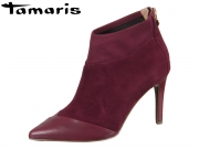 Tamaris 1-25384-21-523 burgundy Kid Suede