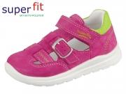 SuperFit MEL 4-00430-55 rosa-hellgrün Velour Textil