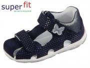 SuperFit FANNI 4-09041-80 blau rosa Velour Effektleder