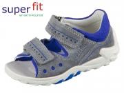 SuperFit FLOW 4-00030-25 grau-blau Velour Textil