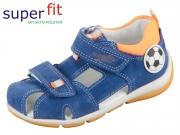 SuperFit FREDDY 4-09142-80 blau-orange Velour Textil
