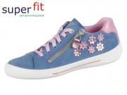 SuperFit TENSY 4-09108-80 blau rosa Velour Effektleder