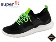 SuperFit THUNDER 4-09394-01 schwarz grün Tecno Textil