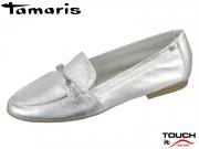 Tamaris 1-24212-22-941 silver Leder