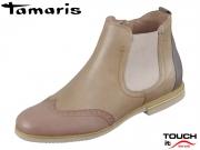 Tamaris 1-25310-22-424 shell comb Leder