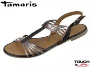 Tamaris 1-28130-22-098 black combi Leder