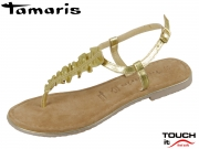 Tamaris 1-28143-22-940 gold Leder